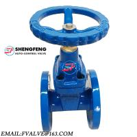 Quality DIN 2 Way 4 inch Cast Iron Water Manual Gate Valve wholesale