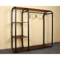 Cheap Customized Design Garment Storage Rack / Industrial Clothing Rack Easy Assemble for sale