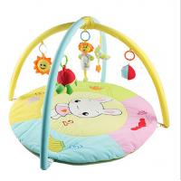 Cheap Personalized Rabbit Bunny Baby Activity Play Gym with Soft Material for sale