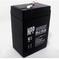 Cheap Lead Acid Rechargeable Battery  (6V 4.5AH) for sale
