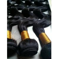 Buy cheap Brazilian virgin hair 100% REMY hair weft/hair weaving/hair bulk,10'' 6A hair from wholesalers
