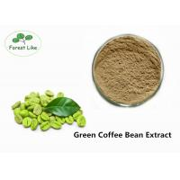Buy cheap Green Coffee Bean Extract Natural Weight Loss Powder 50% Chlorogenic Acid from wholesalers
