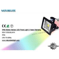Cheap PIR Motion Sensor Warm White 50W Led Flood Light Led Tennis Court Flood Lights Industrial Outdoor wholesale