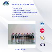 Cheap Aerosol Graffiti Art Lacquer Spray Paint 400ml For Indoor  Outdoor Decoration for sale