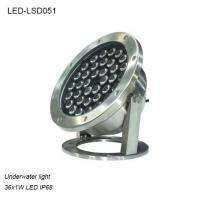 Cheap adjustable 36 Watts High power outdoor IP68 LED Underwater lighting for sale