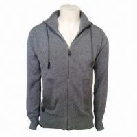 Cheap Men's Cotton Sweater, Body Warmer and Fashionable for sale