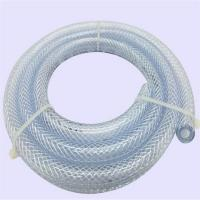 China high pressure PVC flexible water hose pipe plastic tubes Colorful PVC fiber reinforced on sale