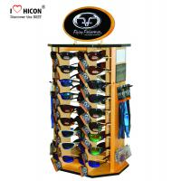 Cheap Shopper Marketing Sunglasses Display Commercial Wooden Sunglass Display Stand for sale