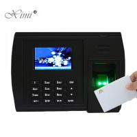 China Webserver TCP/IP ADMS Fingerprint Recognition Time Attendance Biometric Time Clock With Free Software on sale