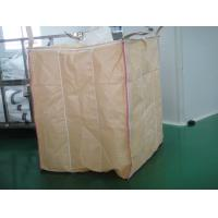 Buy cheap PE Liner Beige baffle Flexible FIBC jumbo bags for packaging starch powder from Wholesalers