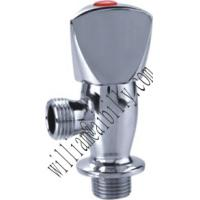 China Chrome Plated Brass Angle Valve with Zinc Alloy Handle on sale