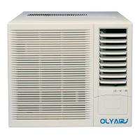 China 12000btu R32 window air conditioner remote control cool and heat support on sale