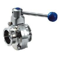 Cheap Sanitary Stainless Steel Butterlfy Valve for sale