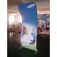 Cheap 4*8FT Cobra Tension Fabric Banner Aluminum Stand + Graphic Printing for sale
