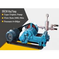 Buy cheap High Pressure Triplex Drilling Mud Pump with Diesel / Hydraulic / Electric from wholesalers