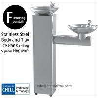 Cheap DF3BC Floor-Mounted Bi-level Stailess Steel Drinking Water Fountain for sale