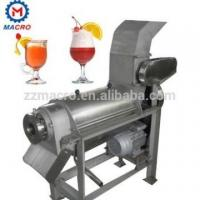 Cheap screw press type fruit and vegetable juice machine control quality stainless steel 304 for sale