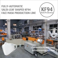 Cheap Fully-automatic Korean Salix-Leaf KF94 Mask Machine Production Line for sale
