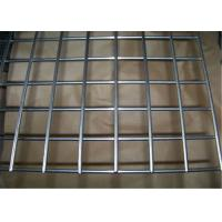 Cheap Galvanized Vinyl Coated Wire Mesh Metal Mesh Panels / Welded Wire Fabric For Concrete wholesale