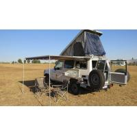Cheap Triangle Shaped Hard Shell Roof Top Tent Fireproof For Cars And Trucks for sale