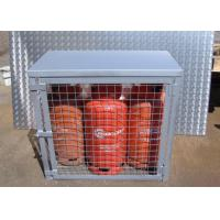 Cheap Compressed Gas Cylinder Cages Gas Canister Storage For Warehouse 800*900*430mm for sale