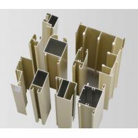 Quality Powder Painted / Anodized Aluminum Extrusion Profiles For Side Hung Doors wholesale