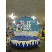 Cheap sphere ball , snow globe inflatable for sale for sale