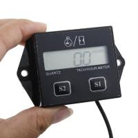 China Digital LCD Waterproof inductive hour meter, SP-201 for Marine, ATV and Generators on sale