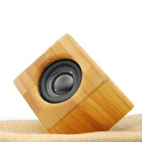 Cheap Acoustic natural bamboo Amplifier Speaker, phone loudspeaker, bamboo loudspeaker for sale
