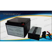 Quality Deep Cycle 12V LiFePO4 Battery 24Ah For Portable Personal Computer Device wholesale