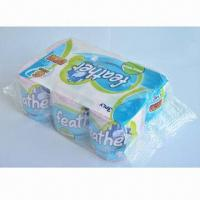Cheap 100% Virgin Pulp Bathroom Tissue Paper with 3-ply and 300 Sheets/Roll for sale