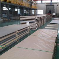 Cheap Structure Application Stainless Steel Floor Plate 304 316L 321 310S Hot Rolled 1D Finish for sale