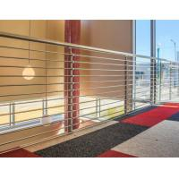 Buy cheap 316 Stainless Steel Guardrail System Solid Rod Bar Railing Balustrade from wholesalers