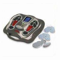 Cheap Talented Foot Massager with 25 Auto Timer and 2-piece Gel Pad Holders for sale