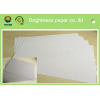 China Mixed Pulp Duplex Paper Board White Back For Printing Bag Anti Curl on sale