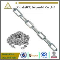 Cheap Stronger specilization manufacturer industrial welded steel chain for sale