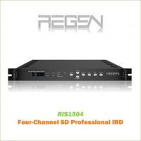 China RIS1504 Digital TV SD Decoder Professional IRD/Receiver 4-Channel Video output CVBS RCA Interface MPEG-2 Decoding on sale