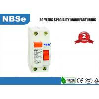 Cheap DP PVC Plastic Base Residual Current Circuit Breaker White Color 50/60Hz for sale