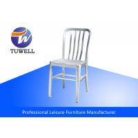 Cheap Anodizing Brushed Aluminum Navy Chairs for sale