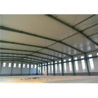 Cheap Clean Span Steel Steel Structure Warehouse Metal Storage Buildings ASTM A36 for sale