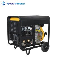 Cheap Air Cooled Open Type 300A Diesel Welder Generator 2V88FAE Set For Welding Machine for sale