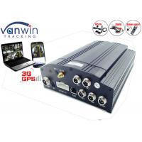 Cheap 720P Vehicle camera DVR System for Cars and Taxis Vehicle Camera monitoring system 4 input for sale