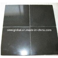 Cheap Absolute Black/ China Black Granite Tile/ Wall Tile for sale