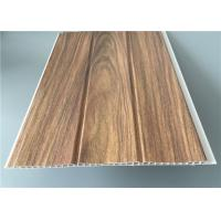 Cheap Three Groove Pvc Wall Panels For Office Easy Install Anti Bacterial 25 Cm*8 M wholesale