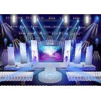 Cheap Rental led display 500 * 500mm / 500 * 1000mm high difinition die - casting alumium cabinet wholesale