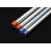 Cheap BS 4568 / BS 31 Hot Dip Galvanized Conduit Pipe With Screwed Ends And Caps for sale