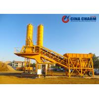 Cheap Small Project Mobile Concrete Mixing Plant Equipment 19.3m*3.2m*7.5m for sale