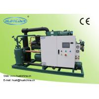 China Food Low Temperature Chiller , Cold Room Storage Water Cooled Condensing Unit on sale