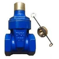 Cheap DN350 Resilient Seat Gate Valve GGG40 / PN10 / F4 / NBR Wedge / Spindle SS 316 / Hand Wheel for sale
