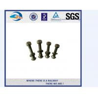 Cheap Galvanized Special Railway Sleeper Bolts And Nuts Track Bolts Fish Bolts for sale